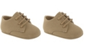 Baby Deer Baby Boy Suede PU Lace-Up Oxford