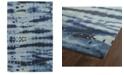 Kaleen Brushstrokes BRS03-17 Blue 2' x 3' Area Rug