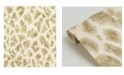 "Brewster Home Fashions Brewster 21"" x 396"" Montone Champagne Giraffe Wallpaper"