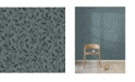 """Engblad & Co Engblad Co 21"""" x 396"""" Willow Dark Silhouette Trail Wallpaper"""