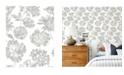 "A-Street Prints 20.5"" x 396"" Folia Floral Wallpaper"