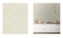 """Advantage 20.5"""" x 369"""" Punta Mita Chevron Wallpaper"""