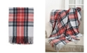 Saro Lifestyle Classic Plaid Throw