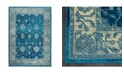 "Global Rug Designs CLOSEOUT! Global Rug Design Venus VEN07 Blue 5'3"" x 7'2"" Area Rug"
