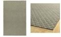 Kaleen Sartorial SAT01-75 Gray 8' x 10' Area Rug