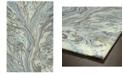 "Kaleen Marble MBL04-17 Blue 9'6"" x 13' Area Rug"