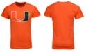New Agenda Men's Miami Hurricanes Big Logo T-Shirt