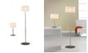Artiva USA 'Audrey' Slim Oval European Design Table and Floor Lamp Set