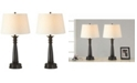 """Artiva USA 28"""" Classic Finished Table Lamp with Handpainted Gold Tracing Set of 2"""