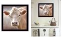 "Trendy Decor 4U Up Close on the Farm By Lori Deiter, Printed Wall Art, Ready to hang, Black Frame, 14"" x 14"""