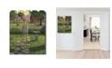 """Trendy Decor 4U Country Life is Beautiful by Kim Norlien, Printed Wall Art on a Wood Picket Fence, 16"""" x 20"""""""
