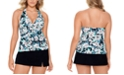 Swim Solutions Halter Tankini Top & Bottoms, Created for Macy's