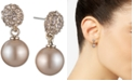 Givenchy Pearl Fireball Drop Earrings