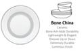 Vera Wang Wedgwood Dinnerware, Moderne Bread and Butter Plate