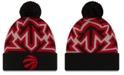 New Era Toronto Raptors Big Flake Pom Knit Hat