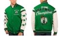 G-III Sports Men's Boston Celtics Victory Formation Commemorative Varsity Jacket