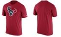 Nike Men's Houston Texans Legend Logo Essential 3 T-Shirt