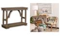 StyleCraft Trestle Side Table