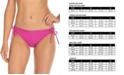Raisins Juniors' Seychelles Solids Sweet Side-Tie Hipster Bikini Bottoms