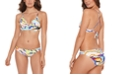 Salt + Cove Juniors' Zebra-Print Bikini Top & Hipster Bottoms, Created for Macy's