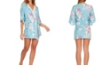 Flora Nikrooz Collection Womens Antonia Printed Knit Robe