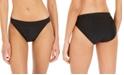 DKNY Logo-Waist Bikini Bottoms