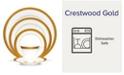 Noritake Crestwood Gold 5 Piece Place Setting
