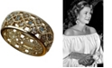 Grace Kelly Collection 18k Gold Plated Scandinavian Wedding Ring
