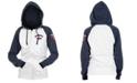 5th & Ocean Minnesota Twins Women's Zip-Up Contrast Hoodie