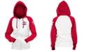 5th & Ocean Texas Rangers Women's Zip-Up Contrast Hoodie