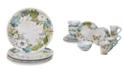 Certified International Nature Garden 16-Pc. Dinnerware Set