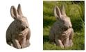 Campania International Hare Seated Garden Statue