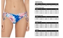 Raisins Juniors' Torquay Sweet Tie-Dye Side-Tie Bikini Bottoms