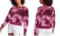 Champion Women's Campus Tie-Dyed French Terry Sweatshirt
