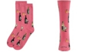 MeMoi Wine and Cheese Women's Novelty Socks