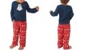 Munki Munki Matching Toddler Holiday Minions Family Pajama Set