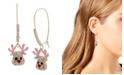 Betsey Johnson Reindeer Dangle Earrings