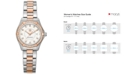 TAG Heuer Women's Swiss Aquaracer Lady Diamond (2/5 ct. t.w.) Two-Tone Stainless Steel Bracelet Watch 27mm WAP1452.BD0837