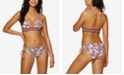 Hula Honey Juniors' Crossed Paths Triangle Bikini Top & Crossed Paths Hipster Bikini Bottoms, Created for Macy's