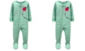 Carter's Toddler Girls Ladybug Snug Fit Footie Pajama Set