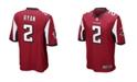 Nike Matt Ryan Atlanta Falcons Game Jersey, Big Boys (8-20)