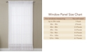 "Miller Curtains CLOSEOUT! Solunar Voile 54""x 95"" Insulating Sheer Curtain Panel"