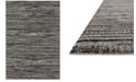 "Loloi Emory EB-02 Grey/Black 2'5""x7'7"" Runner Area Rug"