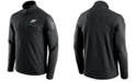 Nike Men's Philadelphia Eagles Elite Coaches Quarter-Zip Pullover