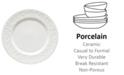 Lenox Dinnerware, Opal Innocence Carved Dinner Plate