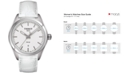 Tissot Women's Swiss T-Classic PR 100 White Leather Strap Watch 33mm T1012101603100