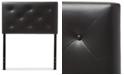 Furniture Baltimore Faux Leather Twin Headboard