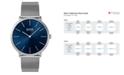 BOSS Hugo Boss Men's Horizon Stainless Steel Mesh Bracelet Watch 40mm