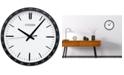 Citizen Gallery Black Wall Clock