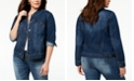 Style & Co Plus Size Denim Jacket, Created for Macy's
